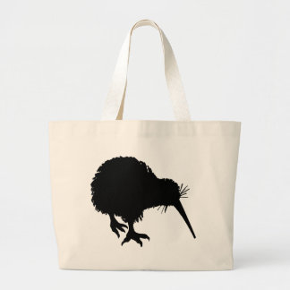 Kiwi Silhouette Large Tote Bag