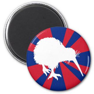 Kiwi Silhouette Magnet