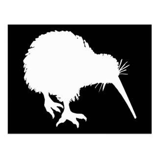 Kiwi Silhouette Postcard