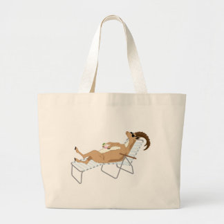 Kiwi Simile Book Characters Large Tote Bag
