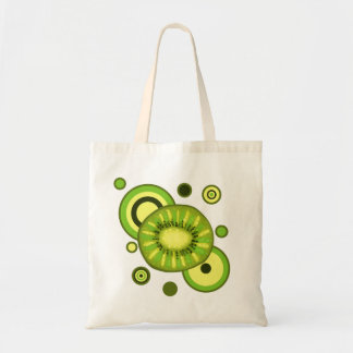 Kiwi Slice Circles Design