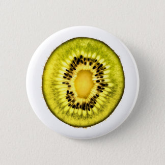 Kiwi Slice - Fruit Button Pin Badge