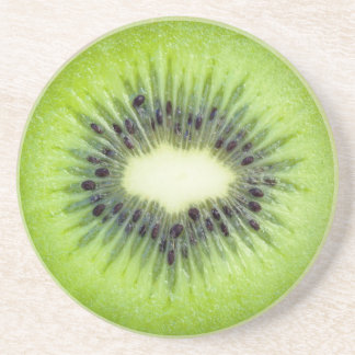 Kiwi Slice Fruit Coasters