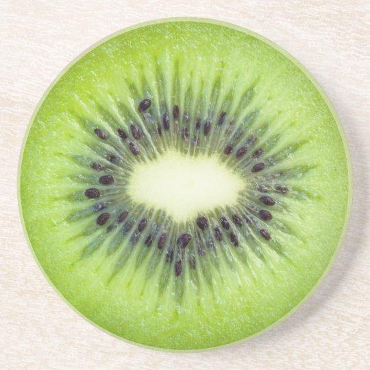 Kiwi Slice Fruit Coasters