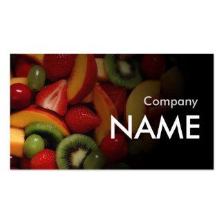 Kiwi Strawberry Fresh Juice Vegetarian Card Pack Of Standard Business Cards