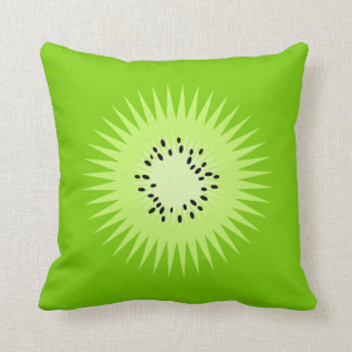 Kiwi Summer Fun Throw Pillow