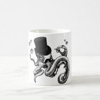 Kiwi the Fancy Octopus Basic White Mug