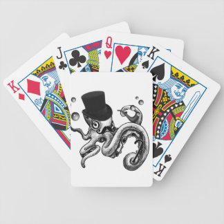 Kiwi the Fancy Octopus Bicycle Playing Cards