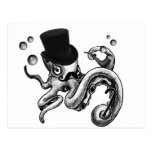 Kiwi the Fancy Octopus Postcard