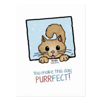 Kiwi the Kitty (Pathway Pet) Postcard