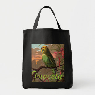 Kiwi the Parakeet Tote Bag