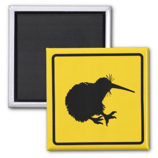 Kiwi Warning Magnet