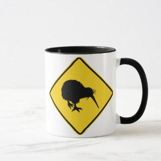 Kiwi Warning Mug