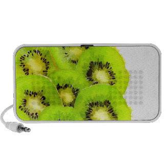 Kiwi | Watercolor Fruit Picture iPod Speaker