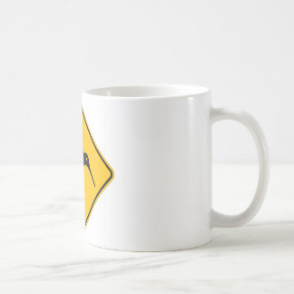 Kiwi Yellow Sign Coffee Mug