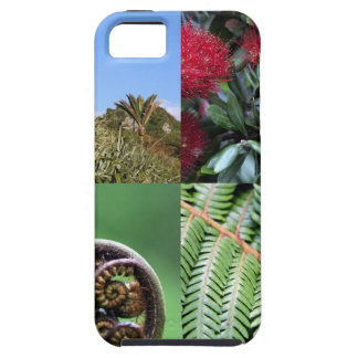 Kiwiana New Zealand native flora iPhone 5 Case