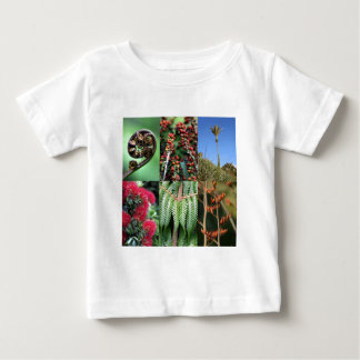 Kiwiana New Zealand summer flora Baby T-Shirt