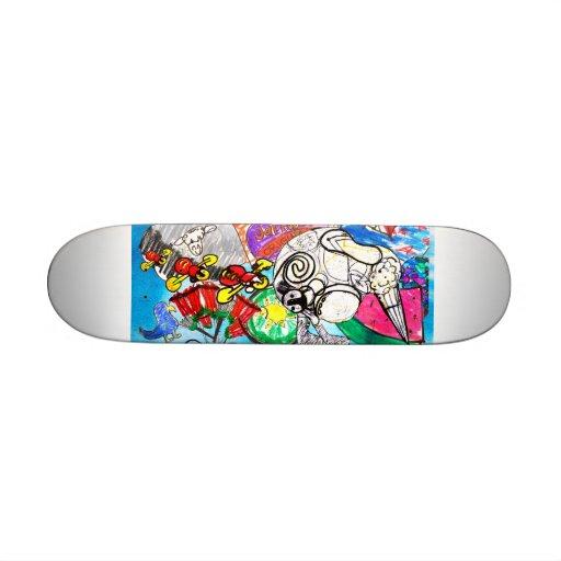 Kiwiana Skateboard
