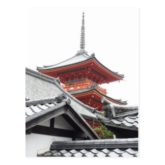 Kiyomizu-dera Kyoto Postcard