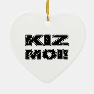 Kiz Moi! Kizomba French Christmas Ornament