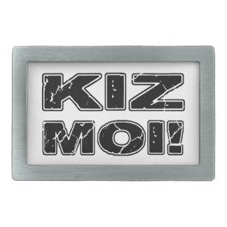 Kiz Moi! Kizomba French Rectangular Belt Buckle