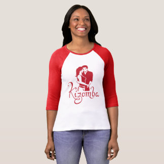 Kizomba red couple T-Shirt