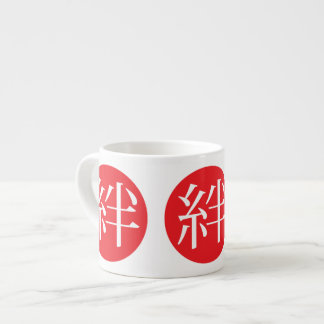 Kizuna or Human Bonds Japanese Word of 2011 Espresso Mug