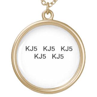 kj5 circle necklace