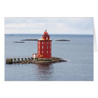 Kjeungskjaer Lighthouse, Norway Card