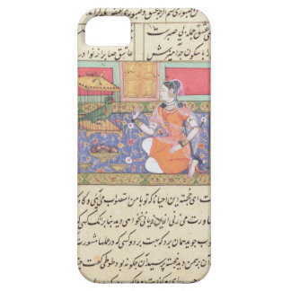 Kjujista, the Merchant's Wife, talking to a Parrot iPhone 5 Covers