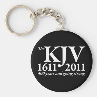 KJV Still Going Strong in white Key Ring