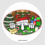 KK Santa Sticker