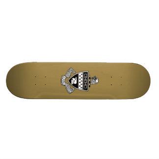 KKappa Alpha Theta Coat of Arms: Black 19.7 Cm Skateboard Deck