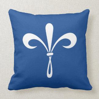 KKG Fleur de Lis: Deep Blue Cushion