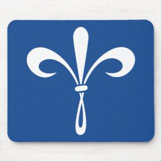 KKG Fleur de Lis: Deep Blue Mouse Mat
