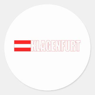 Klagenfurt, Austria Round Sticker