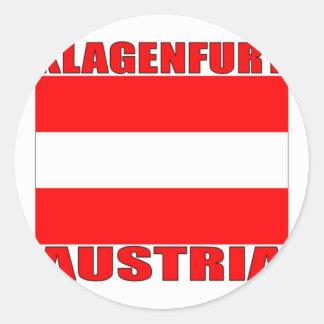 Klagenfurt, Austria Round Stickers