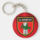 Klagenfurt Flag Key Ring