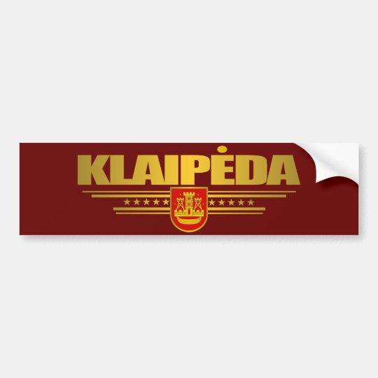 Klaipeda Bumper Sticker
