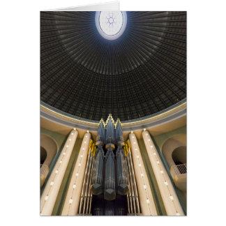 Klais organ, St Hedwig's, Berlin Greeting Card