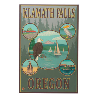 Klamath Falls, OregonScenic Travel Poster