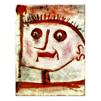 Klee - An Allegory of Propaganda, 1939 Postcard