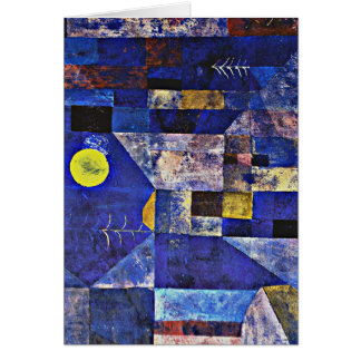 Klee art - Moonlight Card
