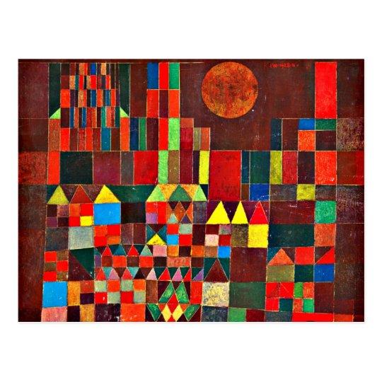 Klee - Castle and Sun Postcard