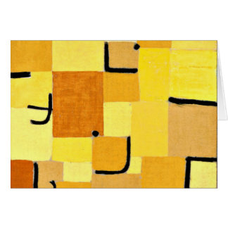 Klee: Characters in Yellow Card