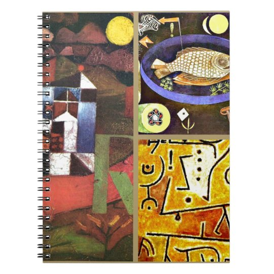 Klee Collage Notebooks