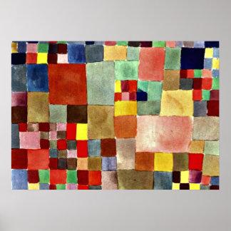 Klee: Flora on Sand Poster