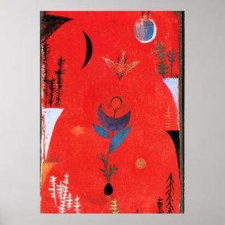 Klee - Flower Myth Poster