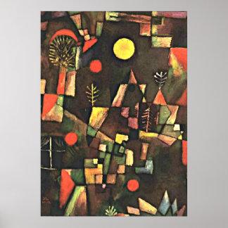 Klee - Full Moon Poster