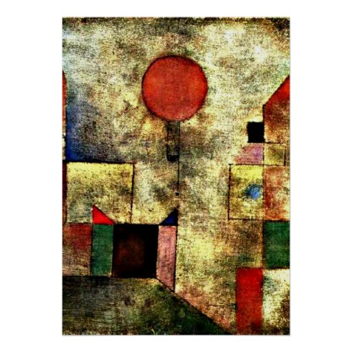 Klee: Red Balloon Poster
